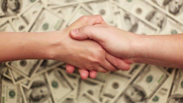 Thumbnail for Geld, Viele Hundert Dollar Scheine (8 Schüsse)