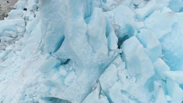 Thumbnail for Blue Nigardsbreen Glacier Is Arm of Jostedalsbreen Glacier in Norway