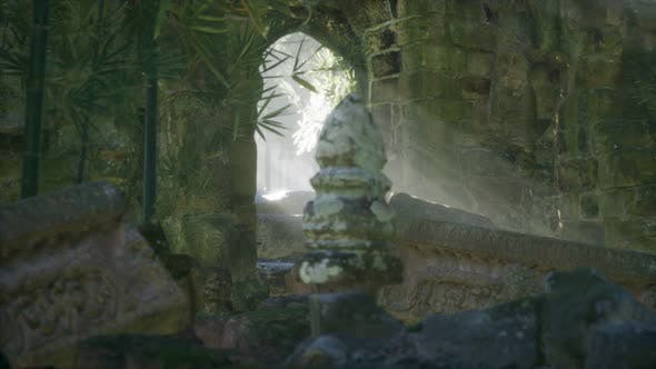 Thumbnail for Ruins of Famous Temple in Cambodian Angkor Wat Area