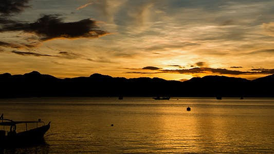 Thumbnail for Zooming Out Langkawi Island Sunrise Time Lapse