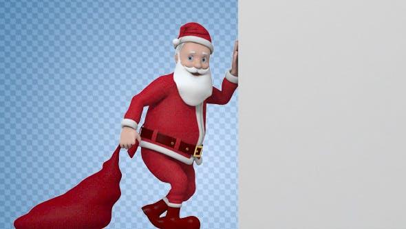 Thumbnail for Santa Reveal Animation