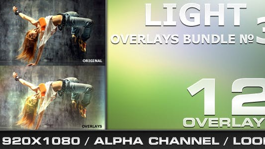 Thumbnail for Light Overlays Bundle - 3