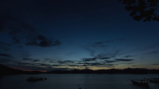 Cover Image for Dawn at Langkawi Island Time Lapse 01