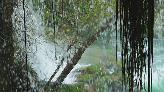 Thumbnail for Waterfall From Inside The Cave