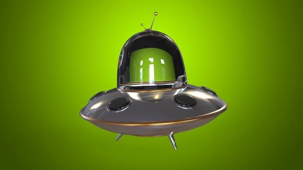 Thumbnail for Flying saucer ufo