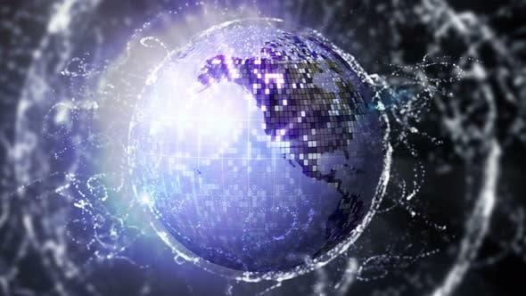 Earth Disco Ball