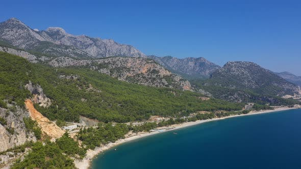 Thumbnail for Aerial View Rocky Mountains Antalya