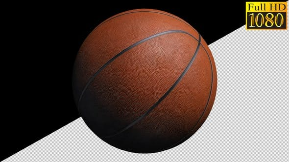 Basketball Ball On Alpha Channel Loops Pack V2