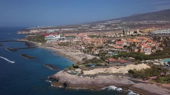 Aerial View of Costa Adeje Resort, Tenerife