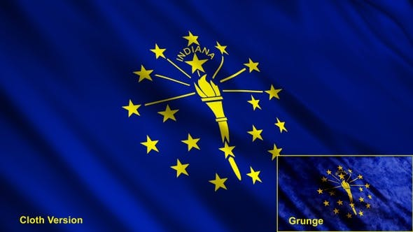 Thumbnail for Indiana State Flags