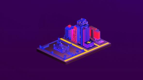 Castle isometric