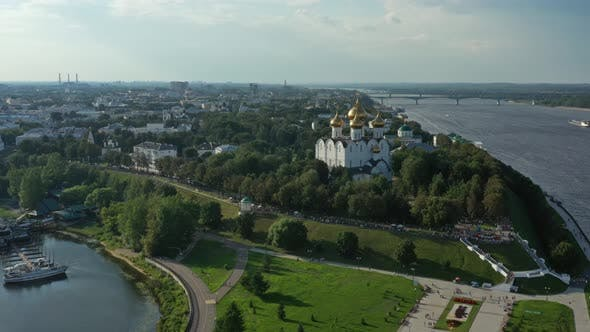 Thumbnail for Assumption Cathedral in Yaroslavl Russia