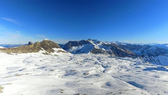 Thumbnail for Ski Resort and Mountain Range