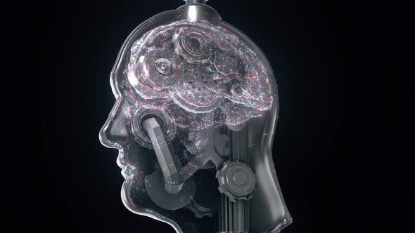 Thumbnail for Concept Of Human Brain By Gears 4k