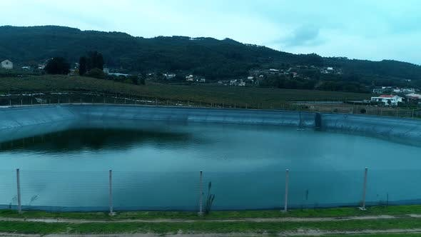 Thumbnail for Artificial Lake for Irrigation on Farm