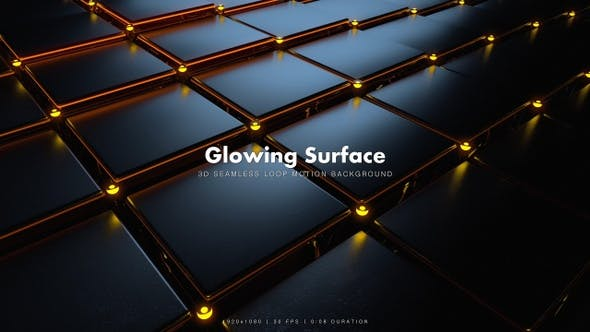 Thumbnail for Glowing Surface Motion 16