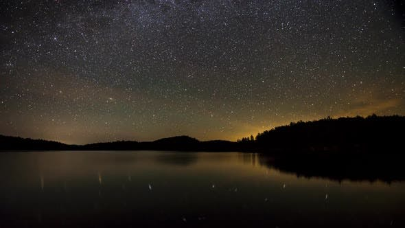 Thumbnail for Milky Way  Over Lake