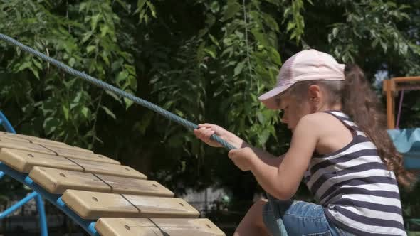 Child on Play Ground.