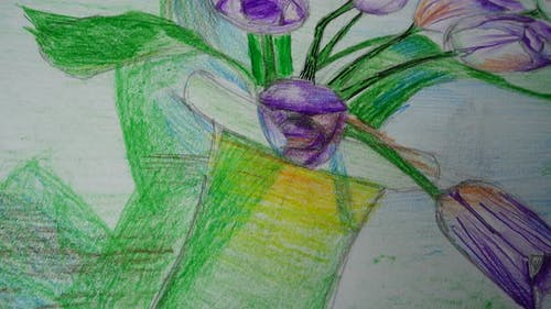 Drawing Vase