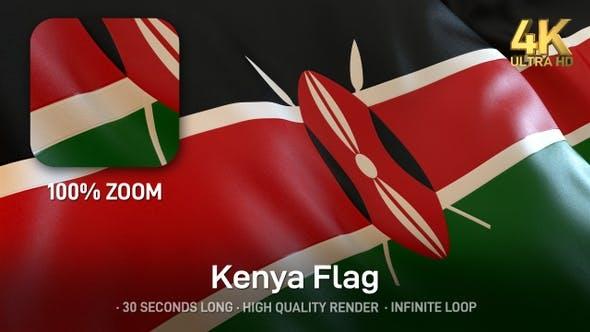 Thumbnail for Kenya Flag - 4K