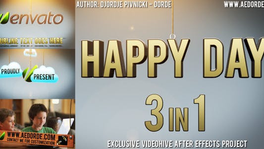 Thumbnail for Happy Day - 3in1