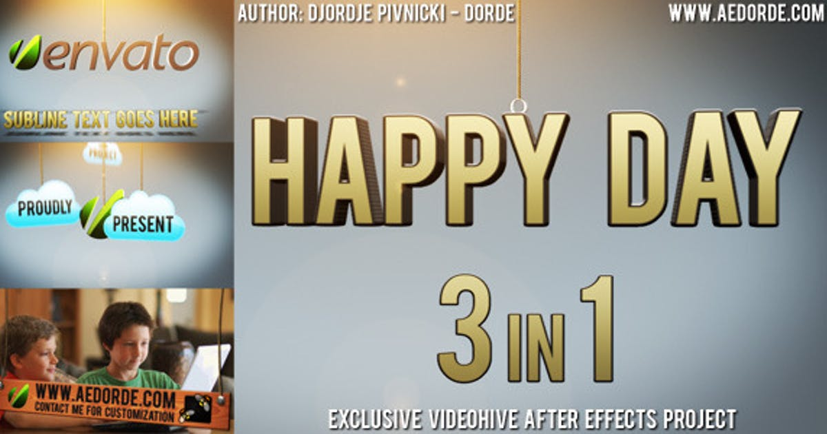 Download Happy Day - 3in1 by dorde