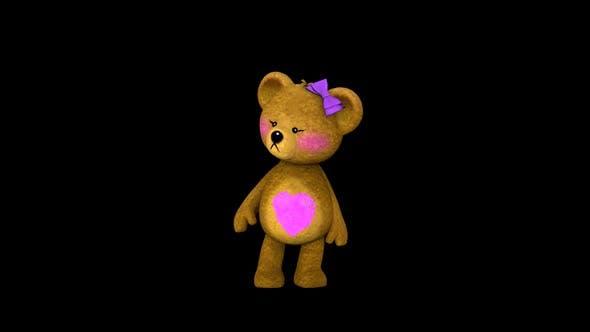 Toy Teddy Girl