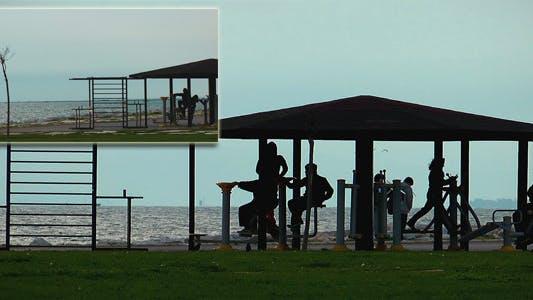 Thumbnail for Training Area Near The Seaside