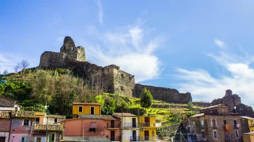 Norman's Castle in Lamezia Terme, Calabria