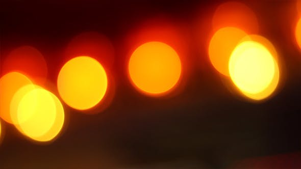 Thumbnail for Pulsating Warm Lights Bokeh