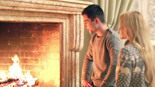 Thumbnail for Fireplace Couple