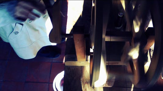 Thumbnail for Spun Silk Machine 2