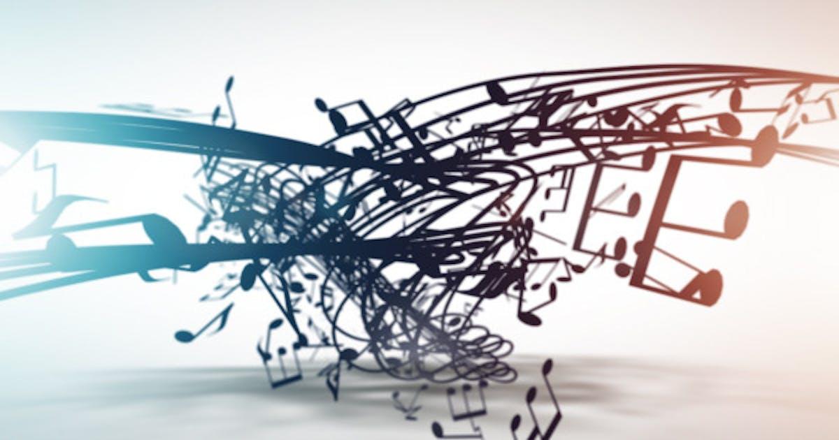 Musical Notation Logo Reveal