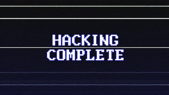 Hacking Complete Glitch Text