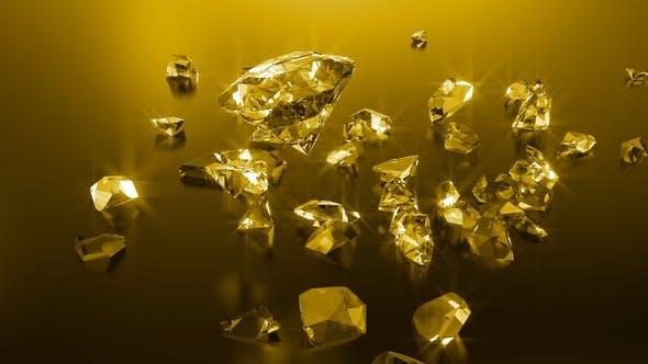 Thumbnail for Golden Shattered Diamonds