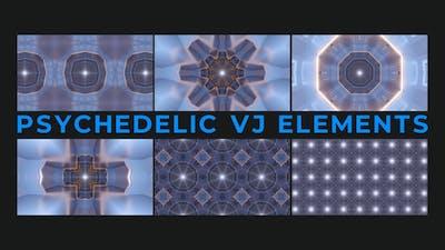Psychedelic Vj Elements