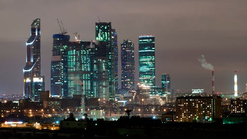Moscow City Time Lapse
