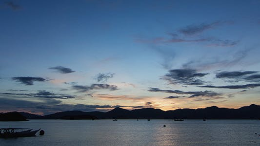 Thumbnail for Zooming In Dawn at Langkawi Island Time Lapse