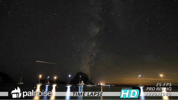 Thumbnail for Stars Time Lapse, Stardust Infinity & Cosmos
