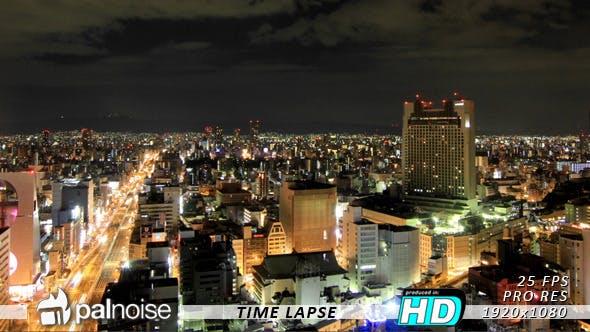 Town Nightlife Japan