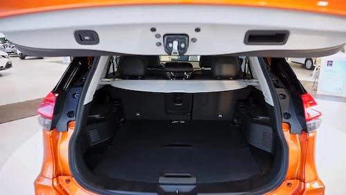 Luxury Car Interior Close Up