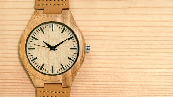 Thumbnail for Wooden Watch Close-Up