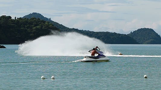 Thumbnail for Jet Ski in Action