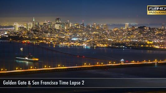 Thumbnail for Golden Gate & San Francisco Time Lapse 2