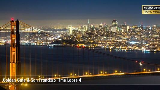 Thumbnail for Golden Gate & San Francisco Time Lapse 3