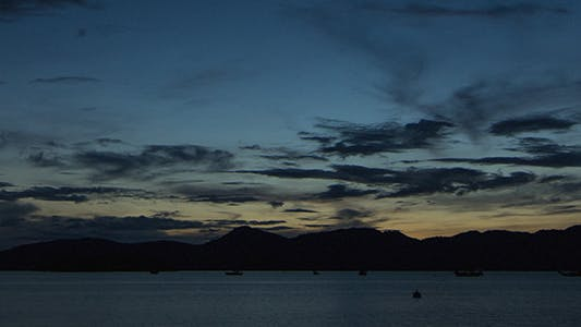 Thumbnail for Zooming Out on Dawn at Langkawi Time Lapse 01