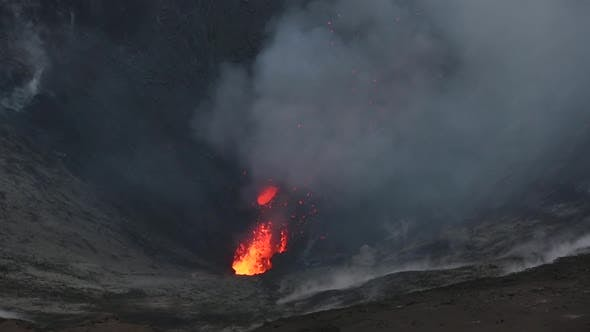 Thumbnail for The Eruption at Vocano Yasur in Vanuatu. February 2014