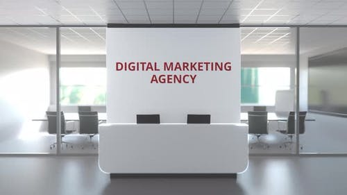 Modern Office of a Digital Marketing Agency