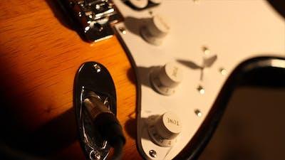 Plug In Electric Guitar
