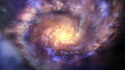 3D Galaxy Loop